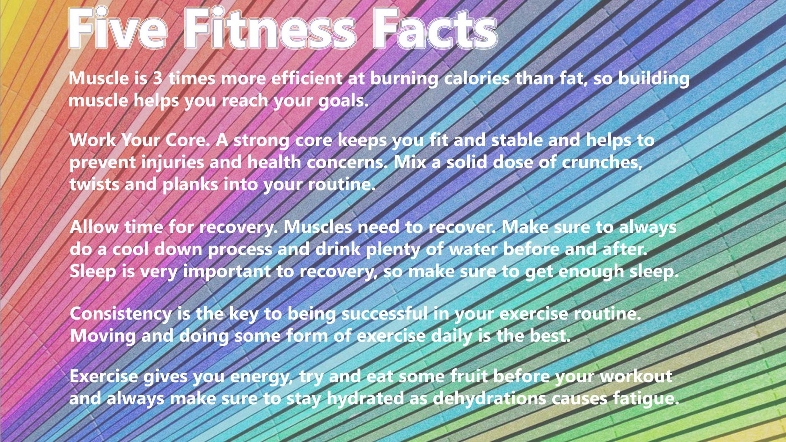 FiveFitnessFacts